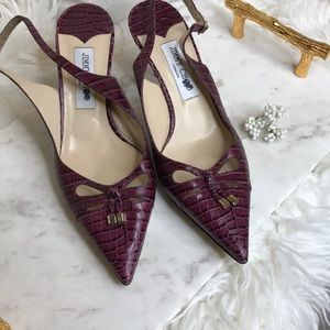 Authentic Jimmy Choo Slingbacks